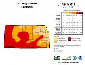 Kansas Drought Monitor May 20