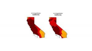 CA Drought July 1 vs Aug 5