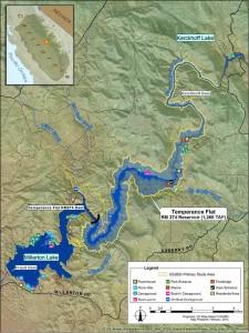 Temperance Flat Reservoir