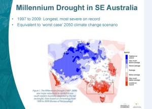 Millennium Drought Map
