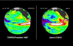 El Nino 1997 and 2015